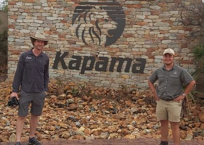 Heinrich Priem (Kapama Private Game Reserve), has a passion for SA's wildlife!